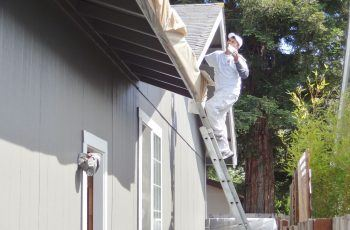 Painting Trimming on home