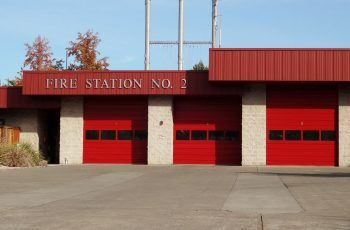 Commercial painting of Fire Station