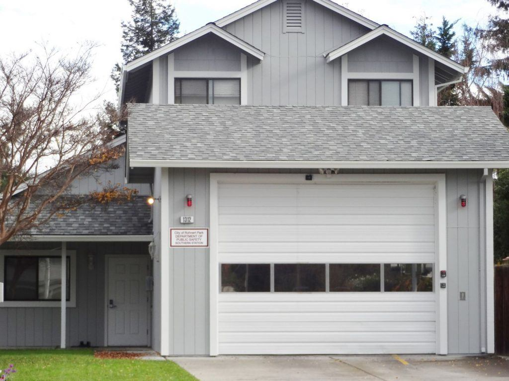 Exterior painting project in Sonoma County