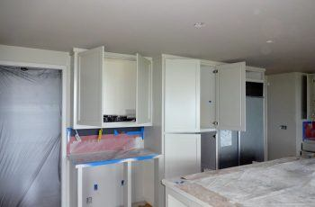 Kitchen Cabinets Painted by Timmins Painting