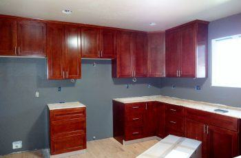 Kitchen painted by Timmins Painting