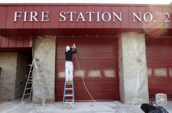 Painting Fire Station