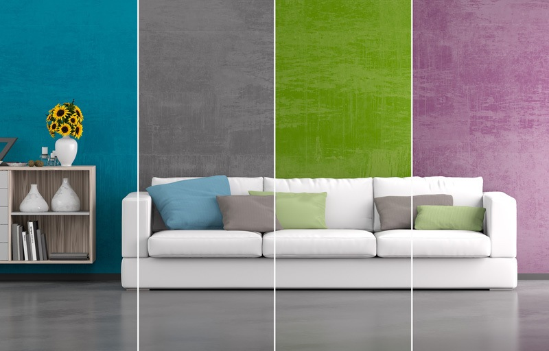 Timmins Painting & Liven Up Your Living Room with 10 Interior Painting Tricks ...
