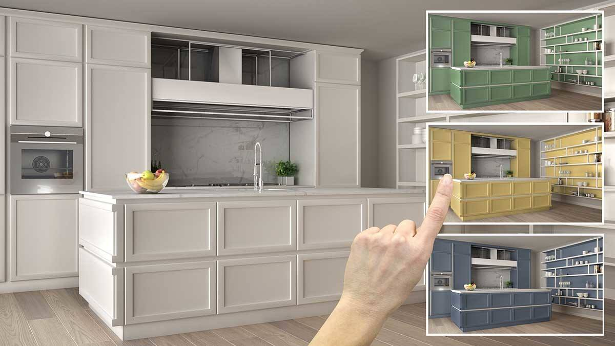 4 Ideas For Painted Kitchen Cabinets Timmins Painting