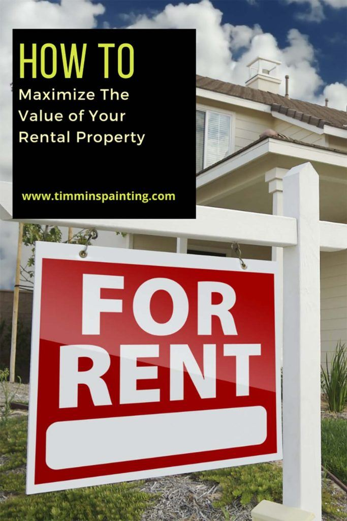 Graphic How to Maximize the Value of your Rental Property