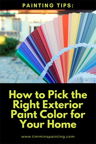 How to Pick the Right Exterior Paint Color for Your Home